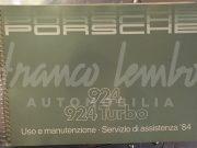Porsche 924 & 924 Turbo – Use and maintenance manual