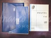 Lancia Fulvia – Driver's and assistance manuals
