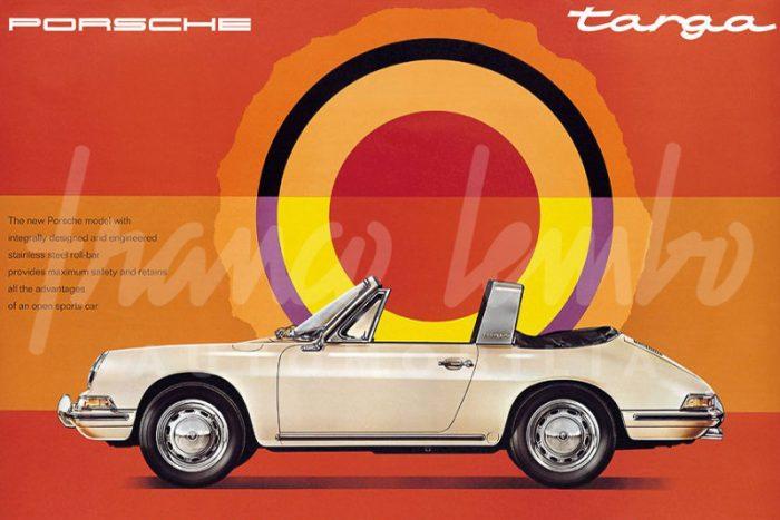 Porsche 911 2,0 L 1967 Targa Soft Window