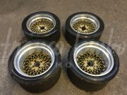 Porsche 934 – Complete set of original BBS E50 wheels