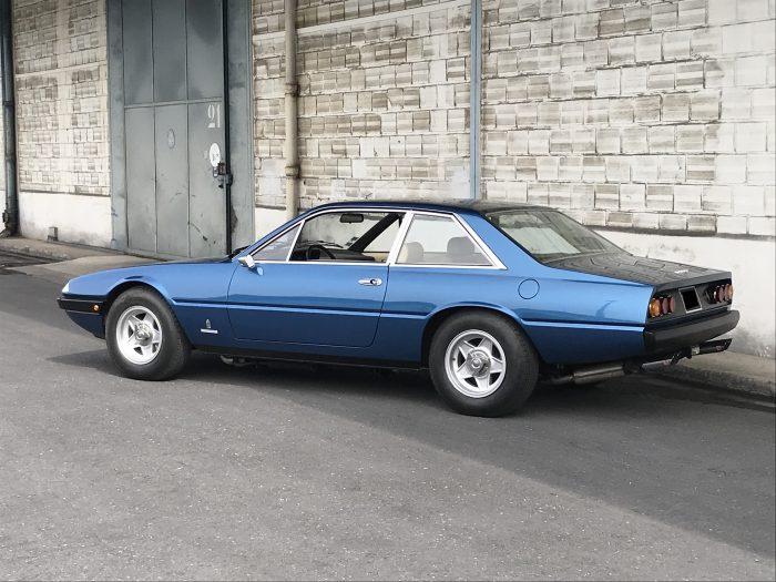 Ferrari 365 GT4 2+2 1976 Ribot Blue – Matching Numbers
