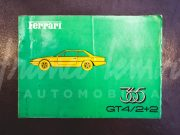 Ferrari 365 GT4 2+2 – Spare parts catalogue