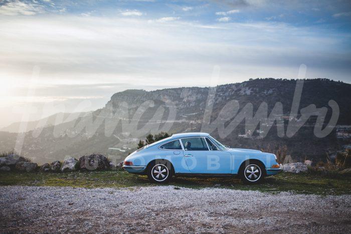 Porsche 911 2.4 T Gulf Blue Oil Klappe
