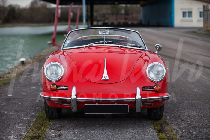 Porsche 356 B T5 Roadster Super 90 – Fully restored, all matching numbers
