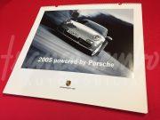 """Porsche – 2005 calendar """"Powered by Porsche"""""""