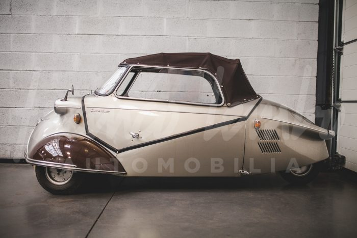 Messerschmitt KR 175 Kabrio – The incredible touch!