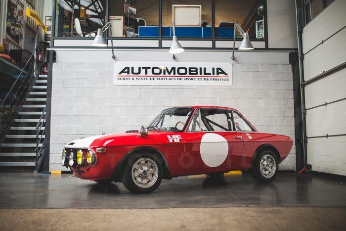 Lancia Fulvia Rallye 1.6 HF Fanalone – Rare exemplaire français