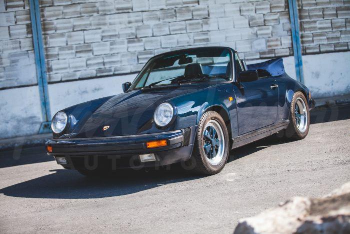Porsche 911 3.2 Cabriolet 1989 – Rare last series – Complete history