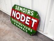 Semoirs Nodet enamel sign