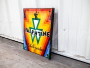 Valentine Paint enamel sign