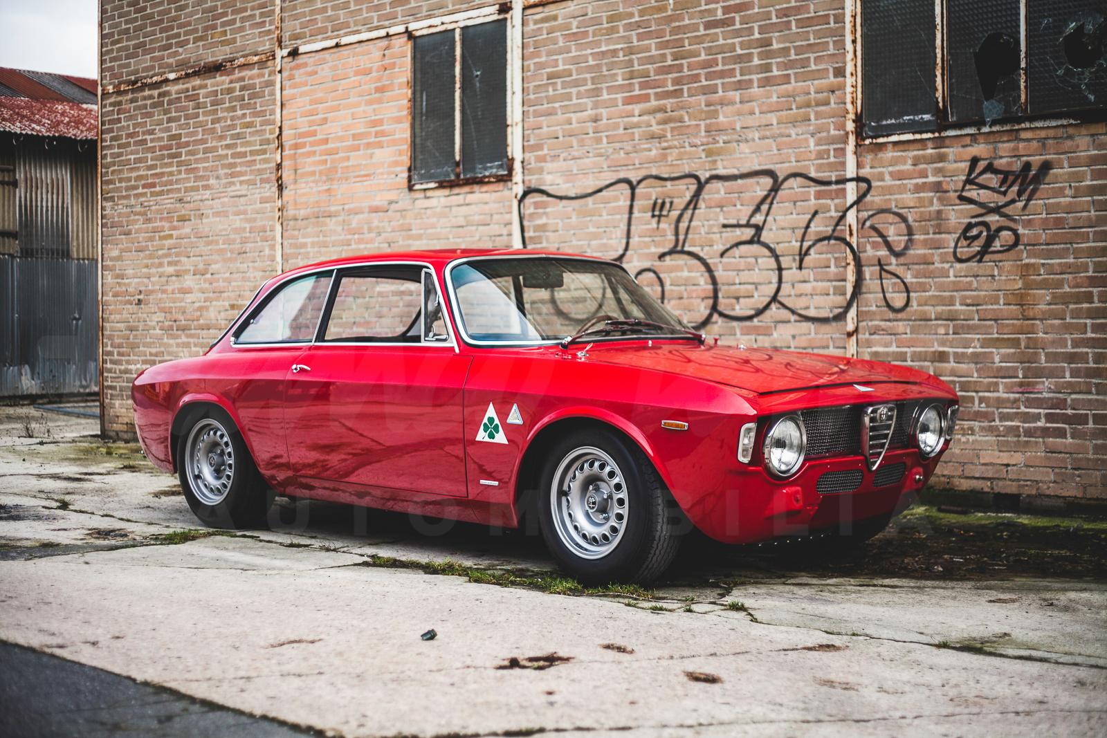 Alfa Romeo 1600 GTA – Built by Autodelta, restored by Rotondi 165 hp ...