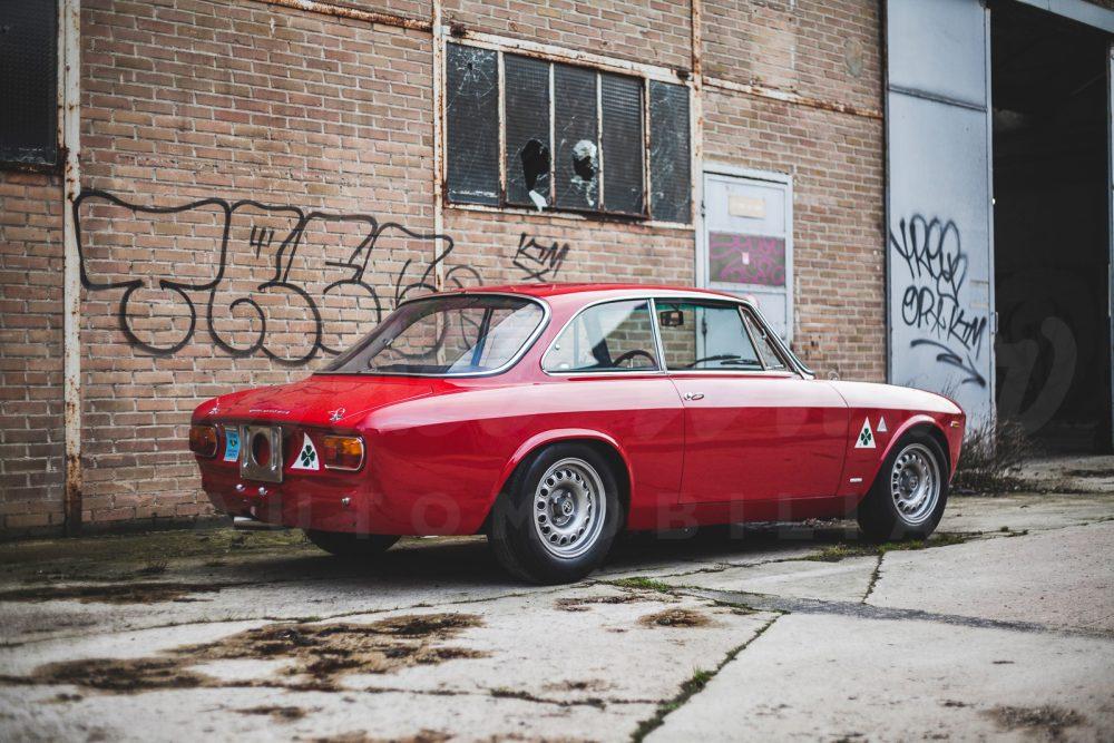Alfa Romeo 1600 Gta Built By Autodelta Restored By Rotondi 165 Hp