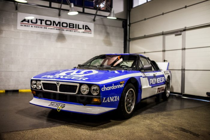 Lancia 037 – Jean-Claude Andruet mule car official team Chardonnet – One of 200 series cars