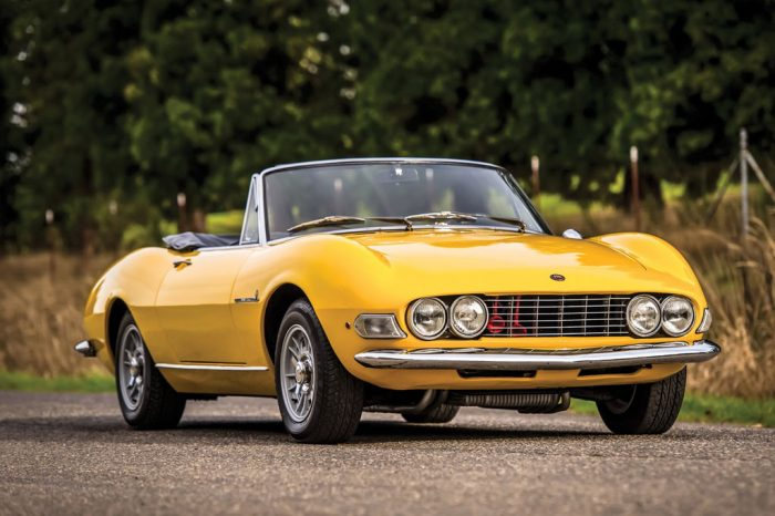 Fiat Dino 2000 Spider – Rare first series, one of 200 with aluminium dashboard – Restored