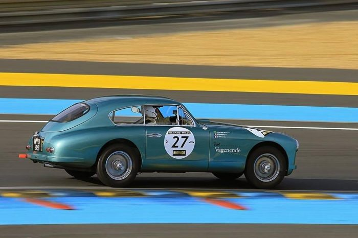 Aston Martin DB2/4 MKI 1953 – Fully documented history, matching numbers – Participation included for Le Mans Classic in July 2018 !