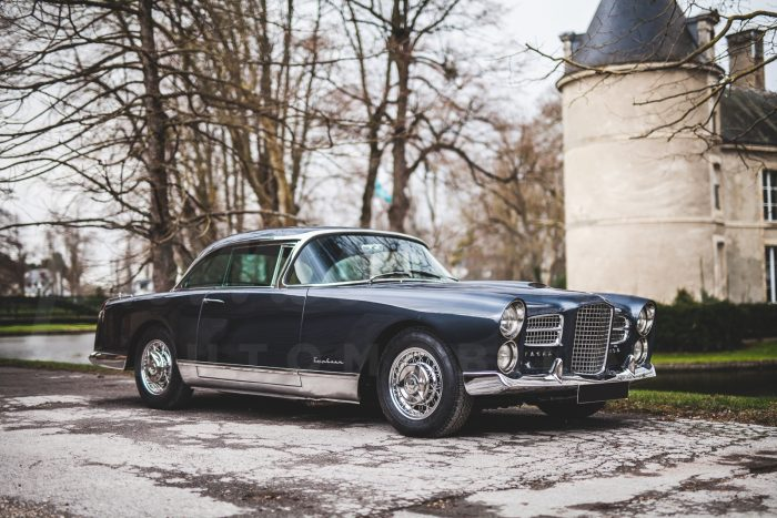Facel Vega FV4 Typhoon 1957 – 340 hp, only 36 built – Top French class and elegance, one of the last handmade French cars !