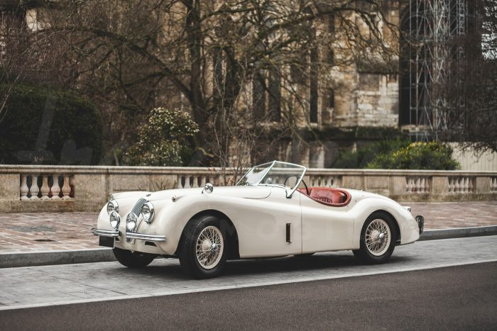 Jaguar XK 120 Roadster – Very rare SE version 180 hp – Never restored 16650 original miles only resprayed once – 100% matching numbers