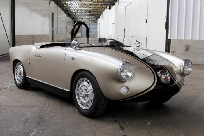 Surprising Fiat Abarth 750 Allemano Spider 1959