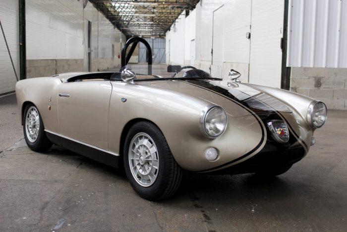Surprenante Fiat Abarth 750 Allemano Spider 1959