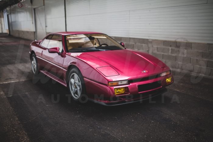 Brand new and so rare Venturi 260 Transcup from 1993 with only 220 km on tacho, 17 units built