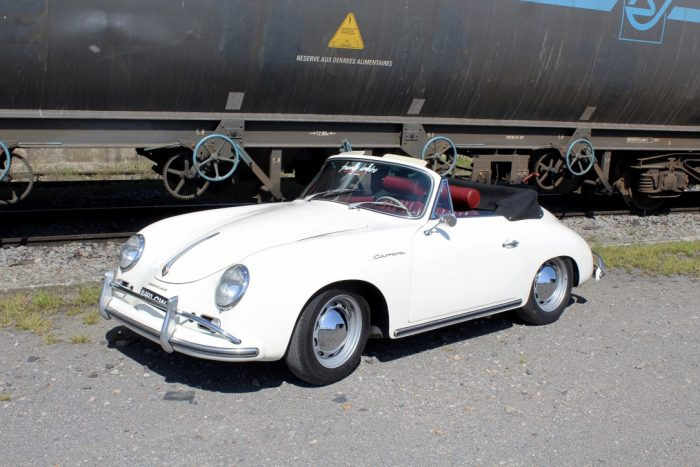 "Exclusive and airy Porsche 356 A Carrera 1600 GS Convertible 1959, only 44 units, ""matching numbers"", restored at Porsche factory in 1991"