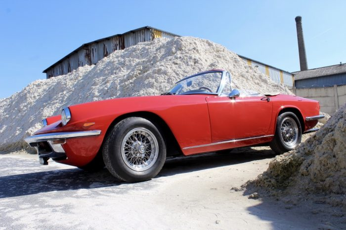 Sensational Maserati Mistral 3700 Convertible 1965 « matching numbers »