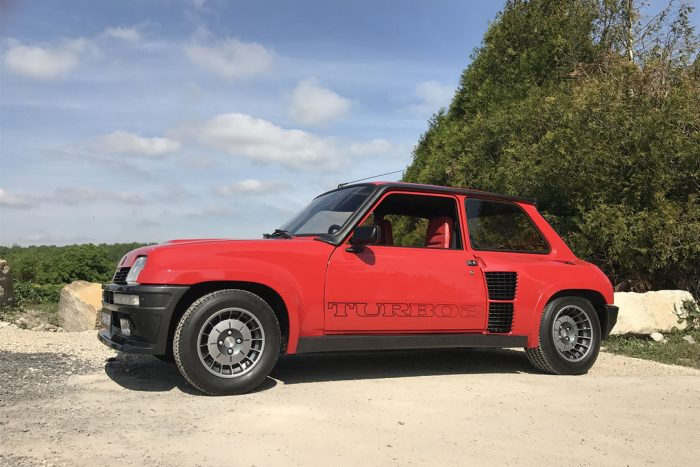 "One of the 200 built, Eccentric Renault 5 Turbo 2 type 8221, ""matching numbers"""