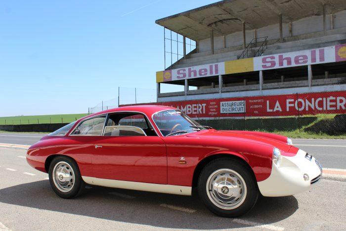 Sculptural Alfa Romeo Giulietta SZagato coda tronca 1962 «matching numbers» 42 units