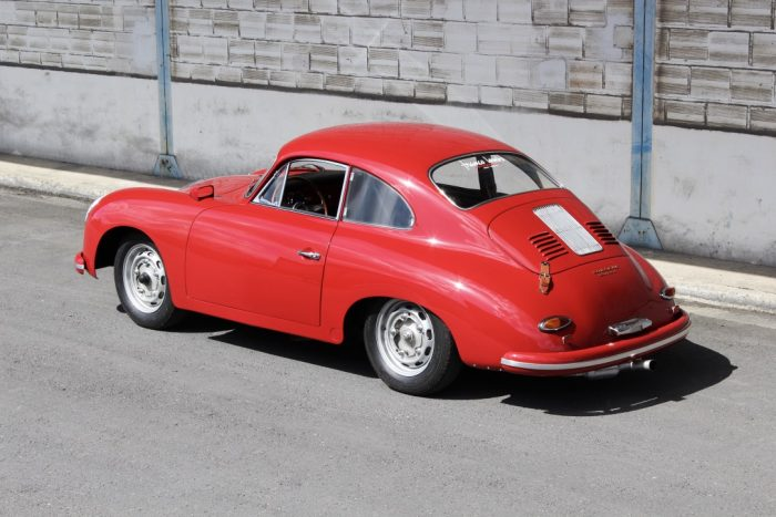 Extremely rare Porsche 356 A Carrera 1600 GT 1959, only 31 units, « matching numbers »