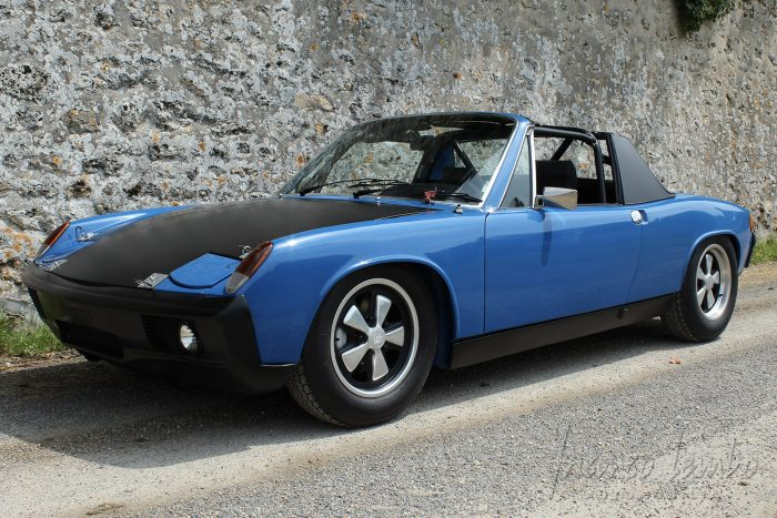 Adriatic Blue Porsche 914/6 from 1970