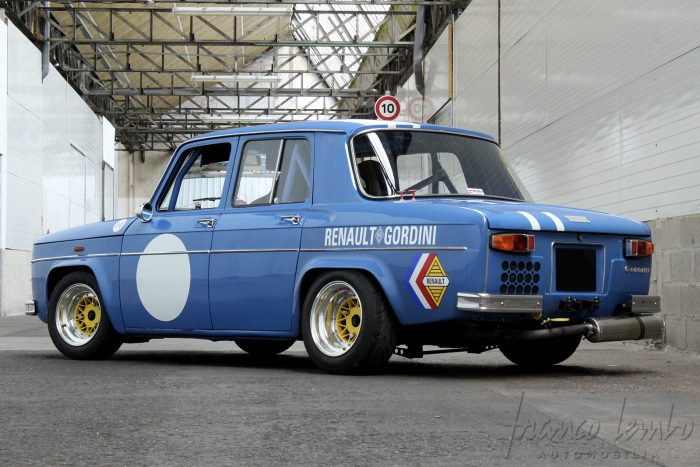 R8 Gordini R1134 from 1966, Group 5 maxi preparation