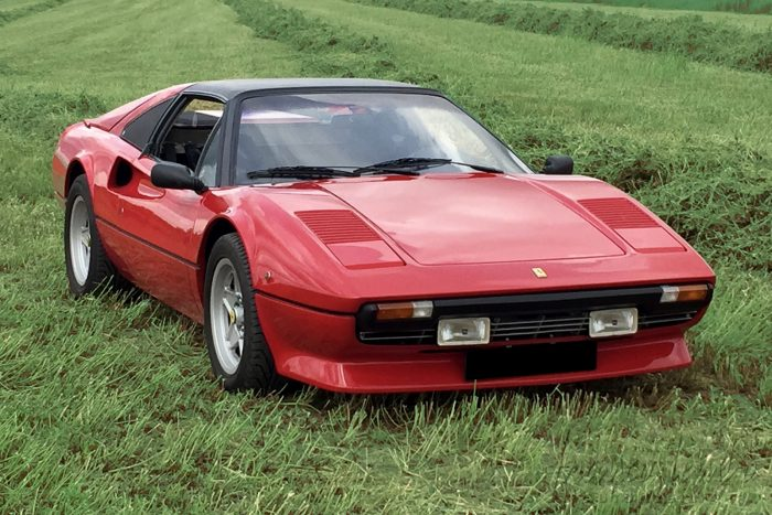 Ferrari 308 GTS, only 99 880 km, matching numbers from 1982