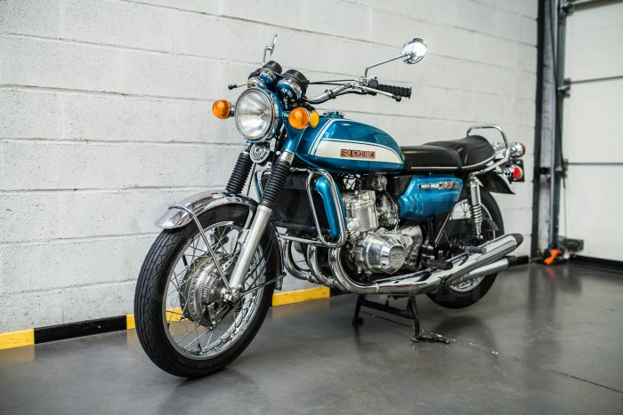 Suzuki GT 750 « kettle », rare 1972 model, low mileage