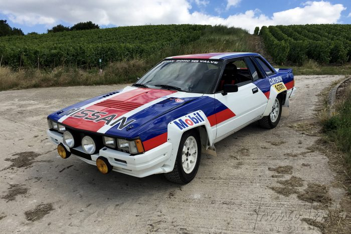 Original Nissan 240 RS Group B 1983 with FIA Passport