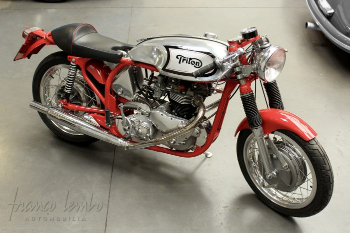 Unique Triton 650 manufactured in 1960 in England