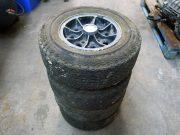 Mini – 4 Dunlop rims in magnesium