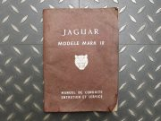 Jaguar Mark 10 – maintenance manual in French