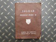 Jaguar Mark 10 – manuel d'entretien en français