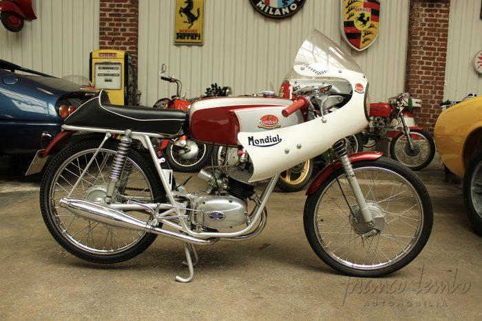 Iconic Mondial 50cc, completely restored, circa 1966