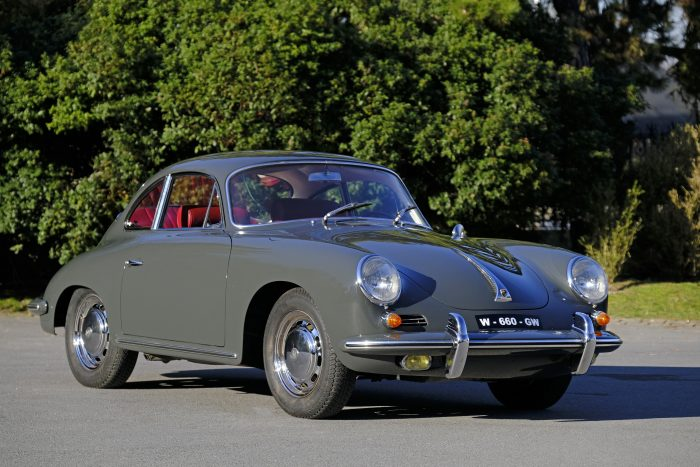 Sensational Porsche 356 C Slate grey 1964  25458 since is restoration in 1991