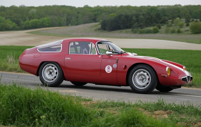 Fabulous Alfa Romeo Giulia Tubolare Zagato 1965 FIA registred with Clear history