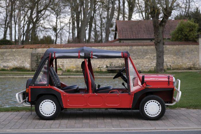 Superb Mini Moke 25  1992 4 seats  7650 Km since new, limited edition of 250