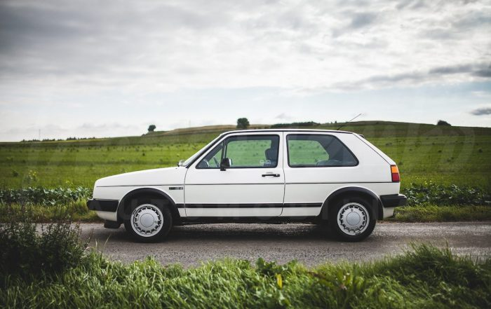 Golf GTI 2 16S 1986 only 35800 km from new, 139 HP.