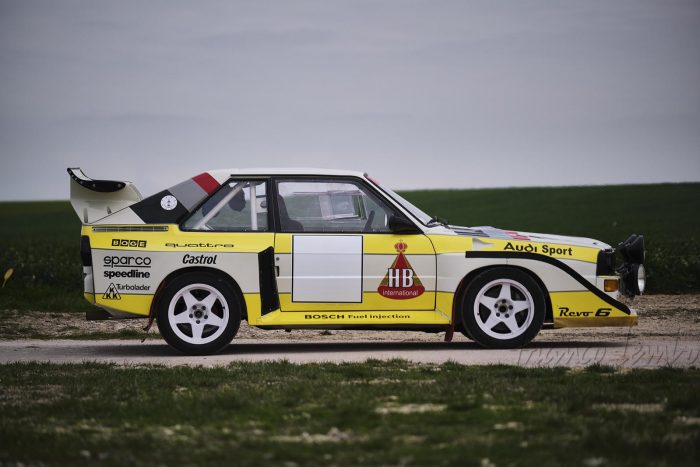 Amazing Audi Quattro S1 E2 1985 Rally. Fia papers LPVRH