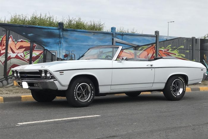 Rare Chevrolet Chevelle Convertible with the fabulous engine 454 ci.1969