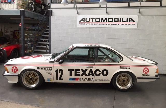 Stunning BMW 635 Group A factory motorsport ETCC / Bavaria team / 3 participations 24 hours of Spa .