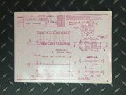 Ferrari Testarossa Rare flyer press folder in French