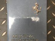 Ferrari Mondial QV / Quattrovalvole – manuel d'utilisation en Italien / Français / Anglais, 104 pages en très bon état, format 15 x 21, prix sur demande.