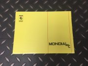 Rare Ferrari Mondial t technical manual in Italian / French / English / German, 72 pages in very good condition, size 18 x 24 cms, 250 euros plus freight
