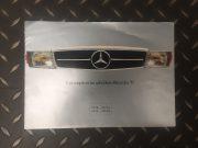 Mercedes 350 SL / 350 SLC / 450 SL / 450 SLC – Brochure publicitaire en Français
